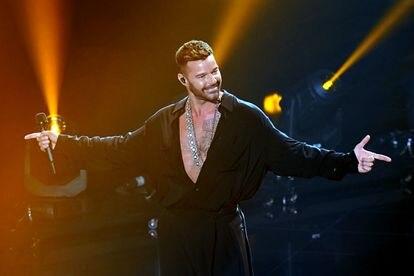 Ricky Martin, durante su actuación en los Grammy Latinos.