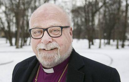 El obispo de Borg, Atle Sommerfeldt, en un parque de Oslo.