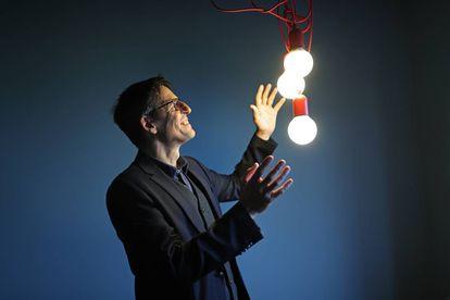 Didier Queloz, ganador del Nobel de Física 2019 por descubrir el primer exoplaneta en 1995.
