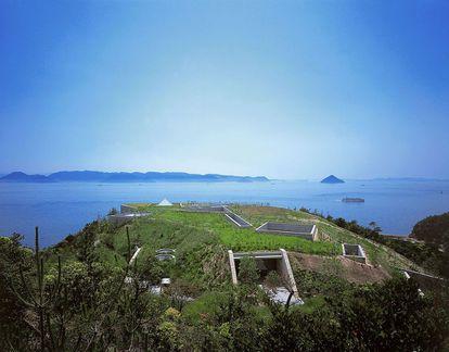 El Chichu Art Museum, obra de Tadao Ando en la isla japonesa de Naoshima, golpeada esta semana por un tifón.