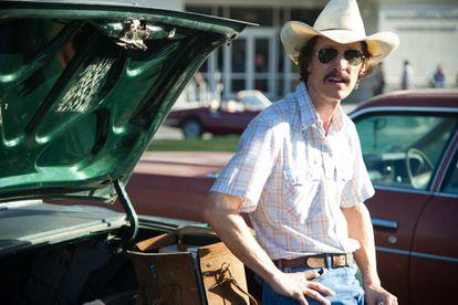 Matthew McConaughey, en una escena de 'Dallas Buyers Club', película por la que ganó un Oscar.
