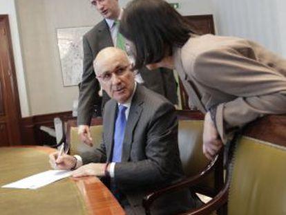 El portavoz de CiU en el Congreso, Josep Antoni Duran Lleida