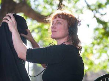 La directora australiana Jennifer Kent, la única presente en la competición de Venecia.