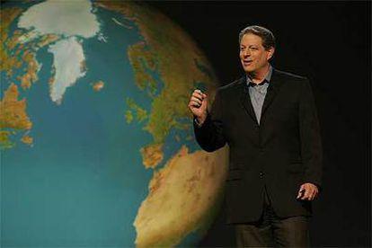 Al Gore, en una imagen de <i>Una verdad incómoda.</i>