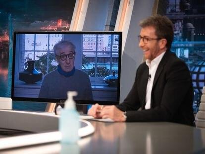 Woody Allen, en un instante de su entrevista en 'El Hormiguero'