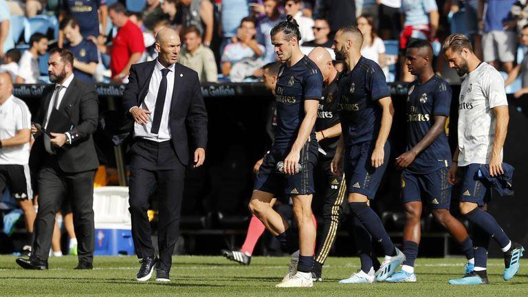 Zidane, Bale y Benzema.