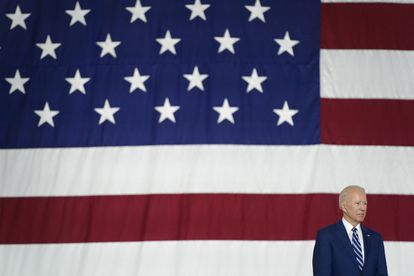 El presidente de EEUU, Joe Biden, este viernes en Hampton (Virginia).