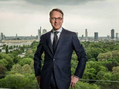 Jens Weidmann, presidente del Bundesbank, en Fráncfort (Alemania).