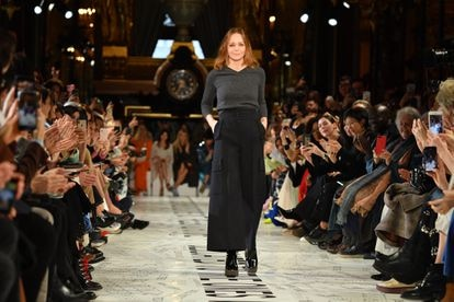 Stella McCartney, en la semana de la moda de París en 2019.