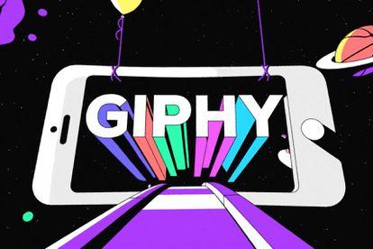 Imagen corporativa de Giphy.