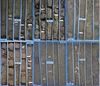 Los sondeos de hasta 50 metros han descubierto restos de cerámicas y sedimentos que prueban la existencia de un puerto en Cádiz datado hace, al menos, 3.000 años