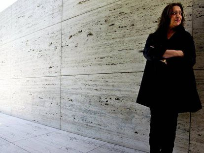 Homenaje a la arquitecta anglo-iraquí