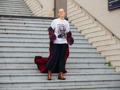 Hanne Gaby Odiele, modelo intersexual, activista.