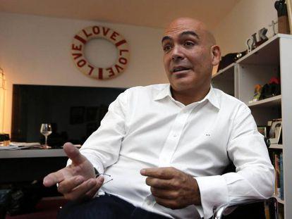 Kike Sarasola, fundador de la cadena hotelera Room Mate.