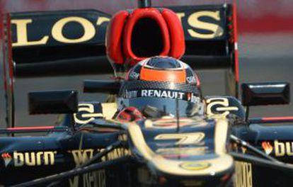 Raikkonen, con Lotus.