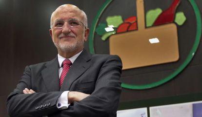 Juan Roig, en la presentación de resultados.