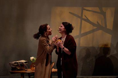 Una escena de 'El grito', de Itziar Pascual y Amaranta Osorio.