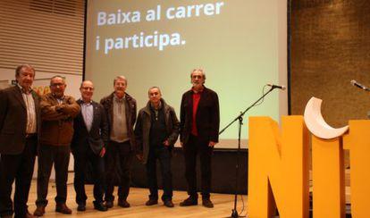Nit d'Escola Valenciana  celebrada el sábado en Alicante.