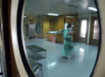 Planta 13, control D, del Hospital Militar Gómez Ulla.