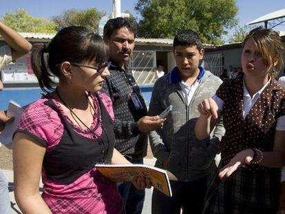 En un pequeño municipio vecino a Ciudad Juárez, una estudiante de Criminología de 20 años ha asumido la jefatura de policía