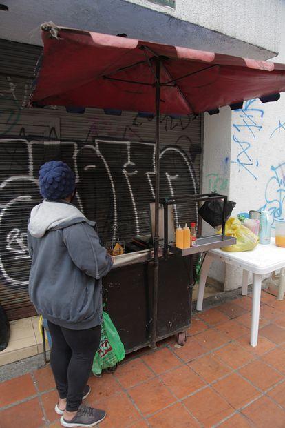 Muchos venezolanos se dedican a la venta de comida ambulante ante la falta de otras oportunidades.