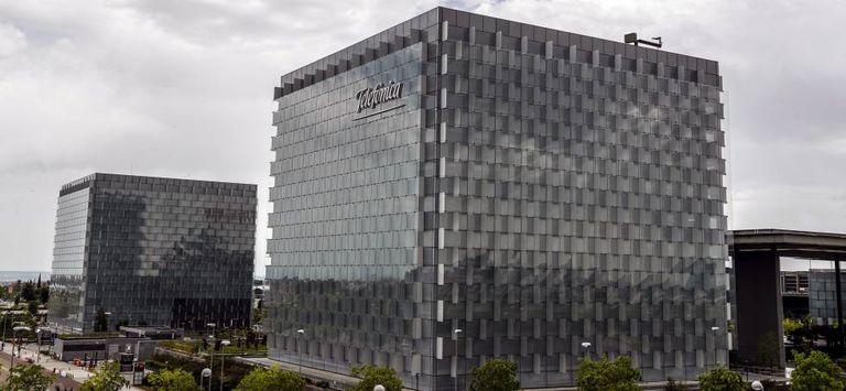 Sede de Telefónica en Las Tablas, en Madrid.