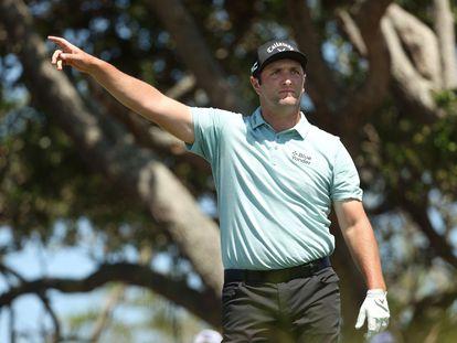 Jon Rahm, en la primera jornada del PGA.