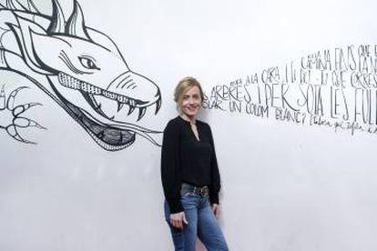 Iria Márquez, directora de 'Un crimen perfecto' en la Sala Russafa de València.