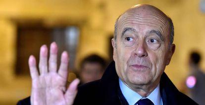Alain Juppe en Bordeaux el pasado 1 de febrero.