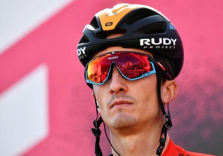 Pello Bilbao, en este Giro de Italia.