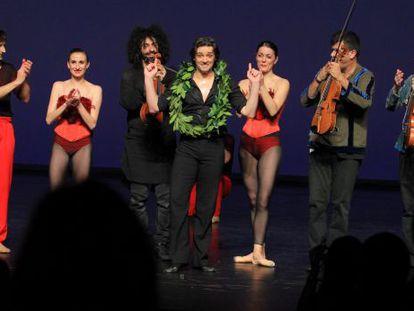 Despedida del Bailarín Ángel Corella en los Teatros del Canal, en Madrid.