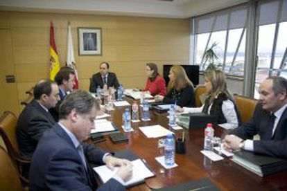 El Consejo de Gobierno de Cantabria en el que se aprobó el Plan de Sostenibilidad de la Administración regional.
