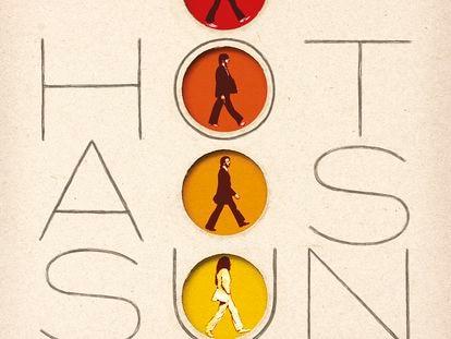 Versión imaginada del disco de The Beatles 'Hot as sun' por el prestigioso diseñador Javier Aramburu, autor de grandes portadas del pop español.