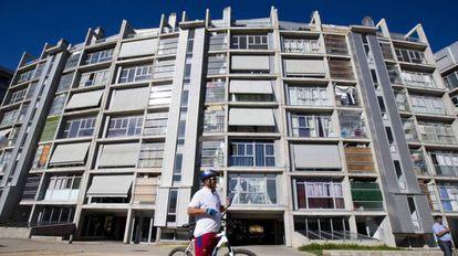 Bloque de viviendas de Fidere, filial de Blackstone, en Madrid.