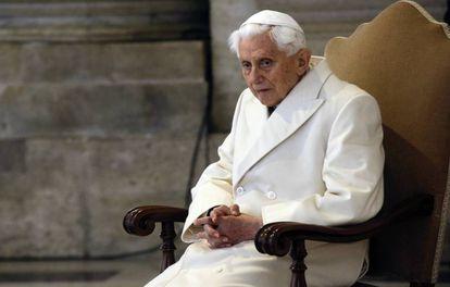 El papa emérito, Benedicto XVI, en una imagen de 2015.