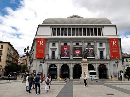 Vista del Teatro Real de Madrid que se alzó con el premio a la mejor compañía de ópera en la gala de los International Opera Awards, catalogados como los Óscar de la lírica, celebrada este lunes.