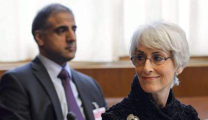 La secretaria de Estado adjunta para Asuntos Políticos, Wendy Sherman.