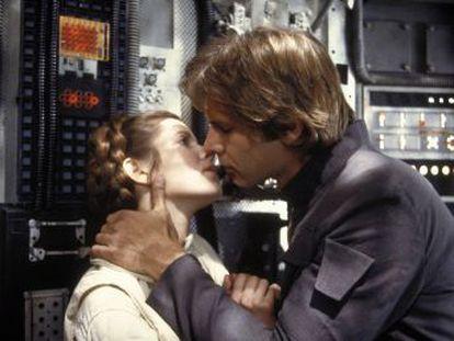 Una selección de las imágenes más destacadas de la franquicia iniciada por George Lucas en 1977 hasta 'Los últimos Jedi'