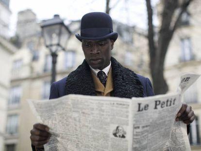 Omar Sy, en 'Monsieur Chocolat'.