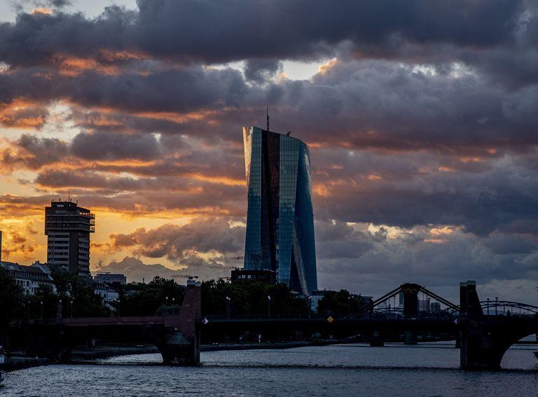 Sede del BCE, en Fráncfort, a finales de agosto.
