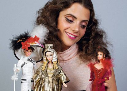 Macarena posa con sus hijas: 'My fair Lady', Cleopatra y Escarlatra O'Hara.