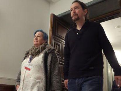 Los dirigentes de Podemos y PSOE rivalizan por defender el Estado de bienestar