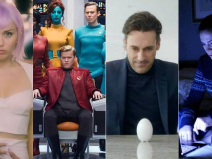 Algunos de los episodios de 'Black Mirror'. En vídeo, tráiler de la quinta temporada.