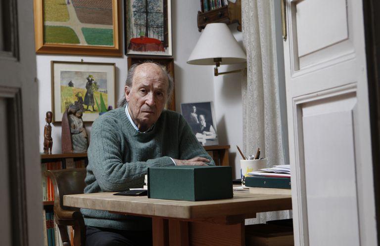 El escrito y periodista Jesús Pardo, en 2009.