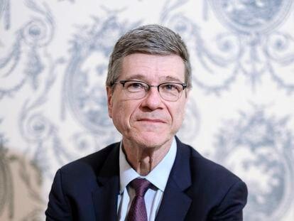 Jeffrey Sachs en una imagen de 2019 en Madrid.