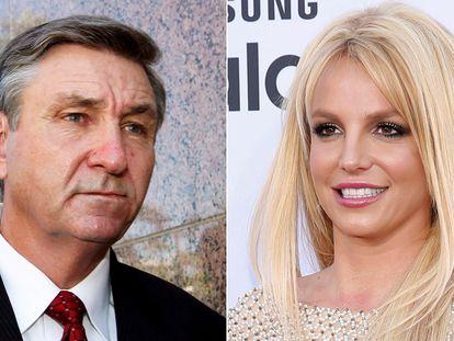 Jamie Spears y su hija, Britney Spears.