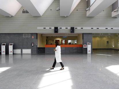 El Hospital Universitario de Torrejón, público de gestión privada.