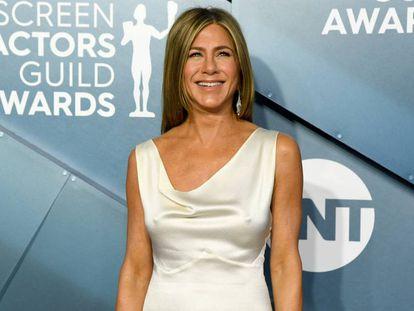 Jennifer Aniston, en la Annual Screen ActorsGuild Awards, en Los Ángeles.