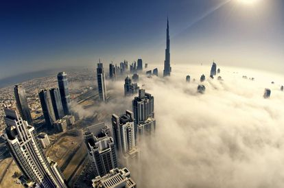 'Skyline' de Dubái, la ciudad que más ha avanzado en la implantación de la 'smart city'.