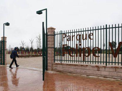 Parque Felipe VI en Madrid.